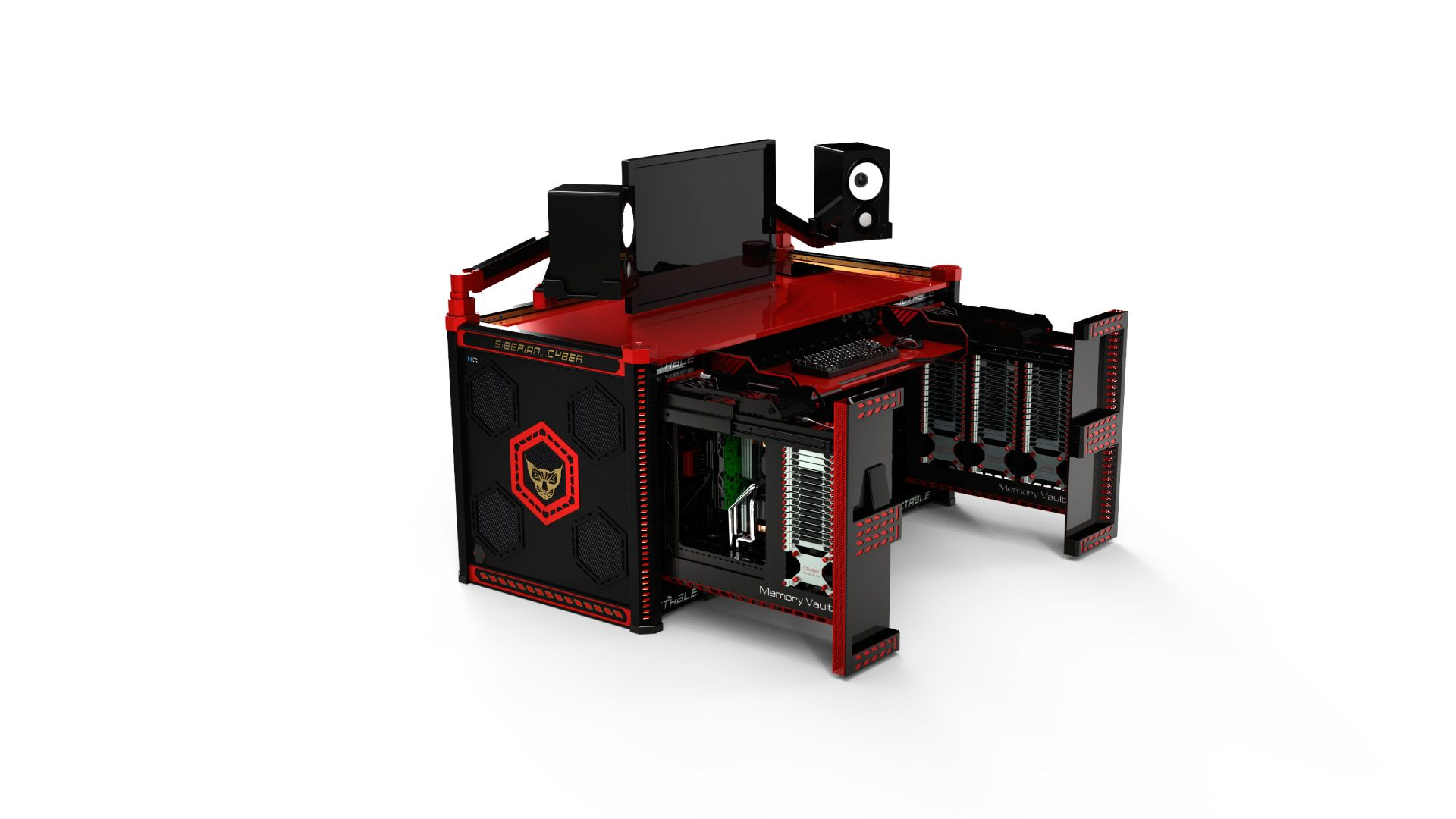 Ictable Is The World S 1st Indesk Computer Table A Modern Powerful Workstation With Extraordinary Ergonomics That