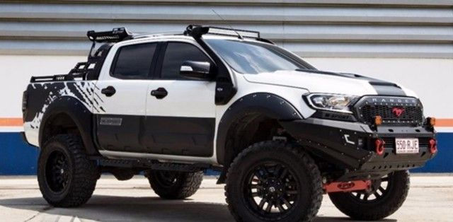 Dealer Customized Ford Ranger Image Via Motoring Ford Ranger