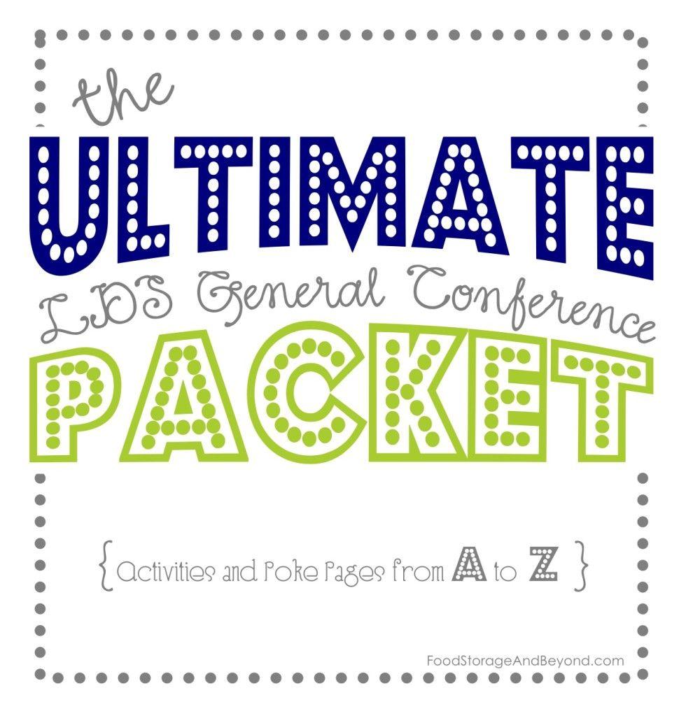 the ultimate general conference activity packet lds churchchurch ideas activities - General Conference Coloring Pages