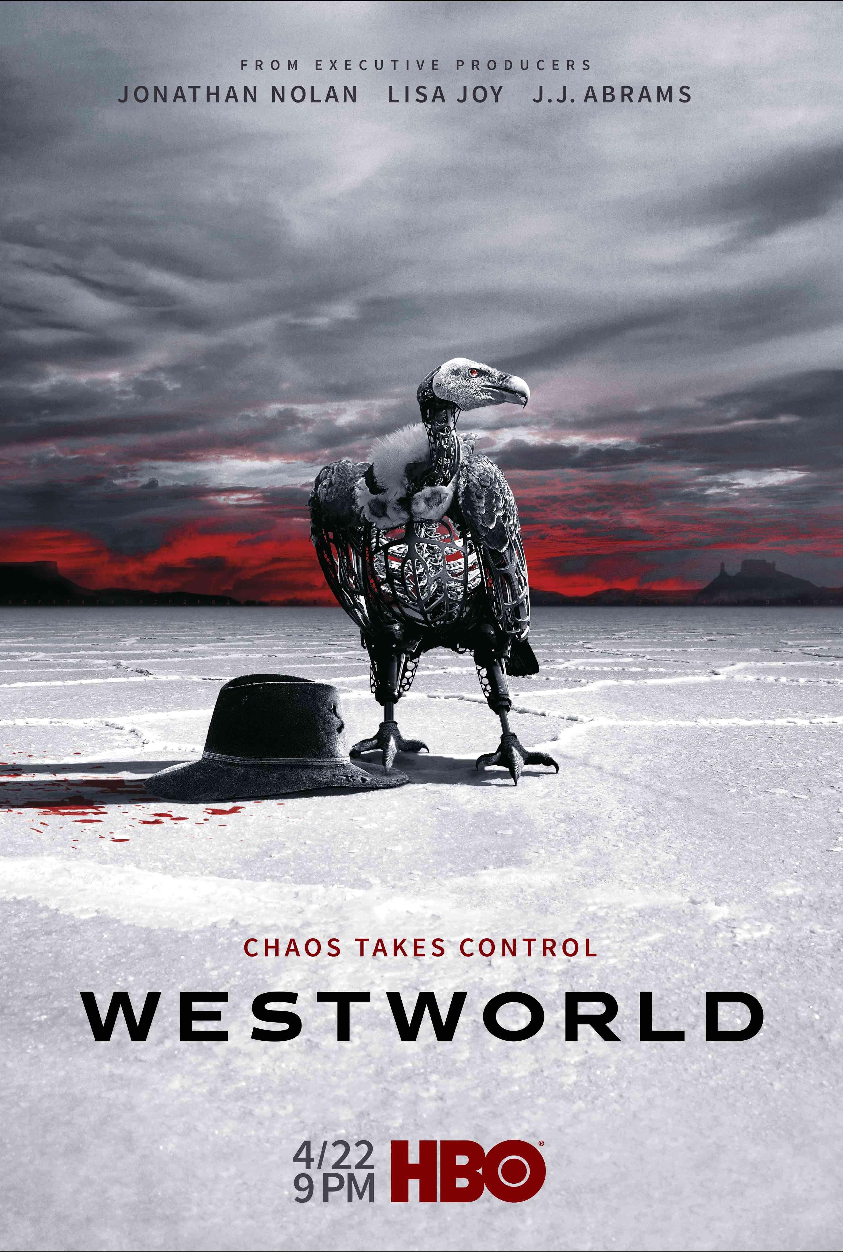 Westworld\' unveils haunting season 2 poster   Pinterest   Seasons ...