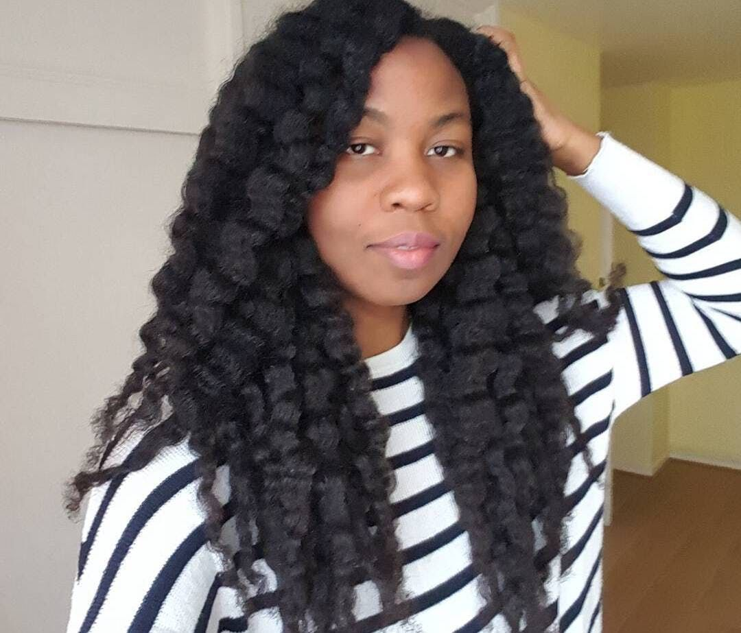 Hemp seed oil for natural hair growth 4c black african