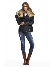 SAM. - 'Gramercy Biker' Carbon Jacket Black #cooljacket #fashionjacket
