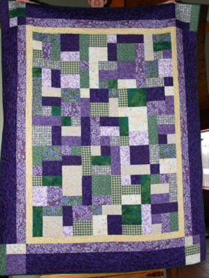 Yellow Brick Road Quilts Lap Quilt Patterns Beginner Quilt