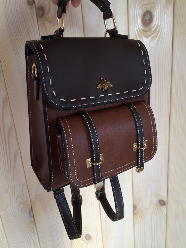 Little Bee Vintage Leather Backpacks Collection #backpacks