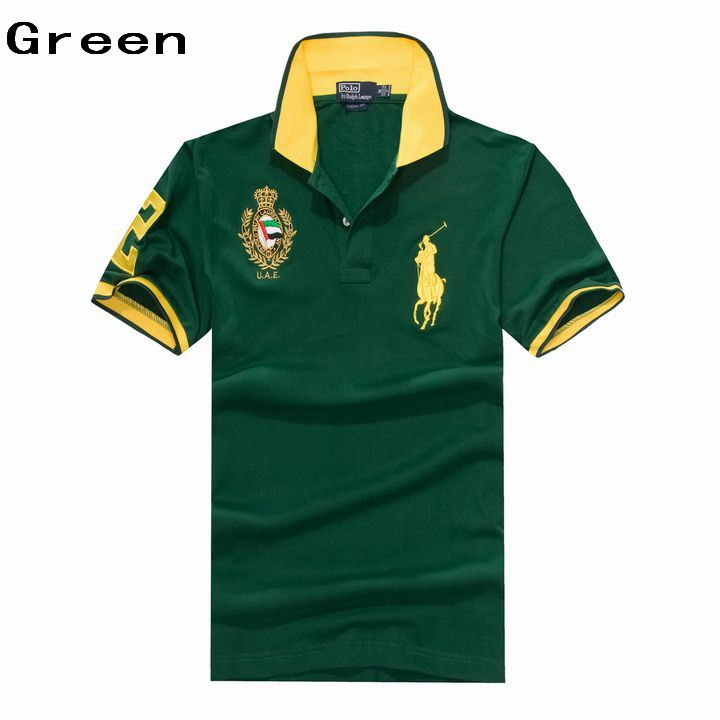 Ralph Lauren Men UAE Big Pony Short Sleeve Polo Green