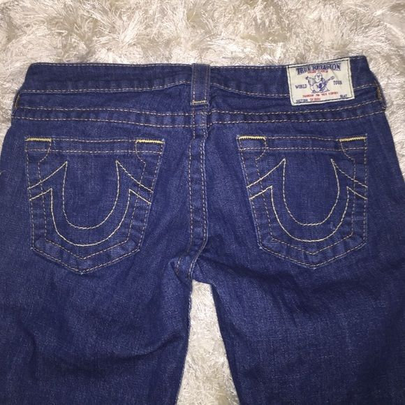 True religion skinny jeans like new condition, perfect everyday blue jean color True Religion Jeans Skinny