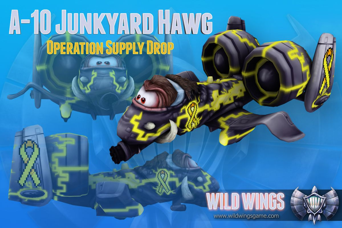 Operation Supply Drop A10 Hawg for Wildwings http