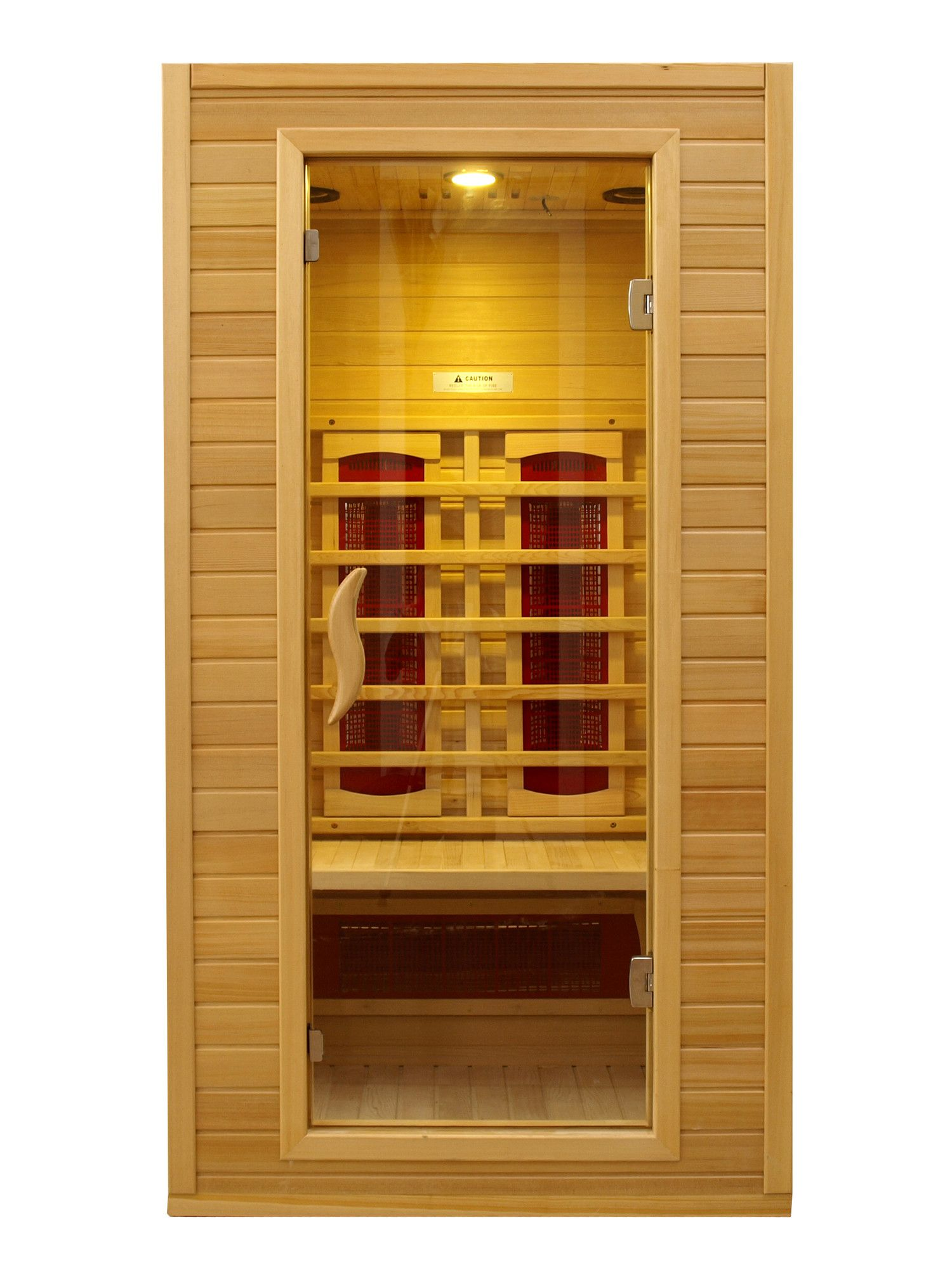 Dynamic Infrared 1 2 Person Ceramic Far Infrared Sauna Reviews Wayfair Szauna