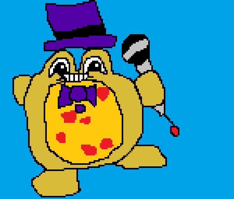 SpringPizza Pixel Art! Http://ift.tt/2hwg2jf