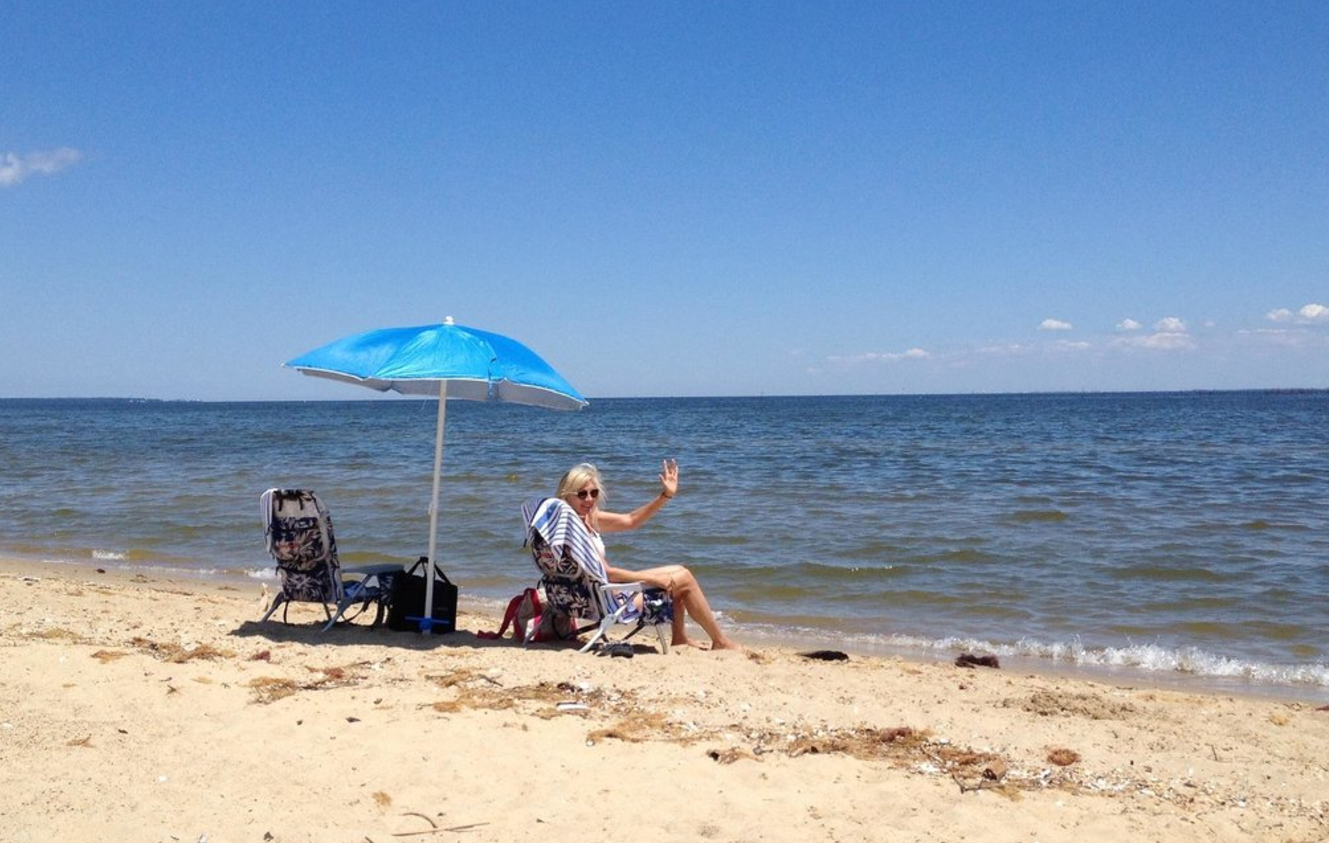 The Top Secret Beach In Maryland That Will Make Your
