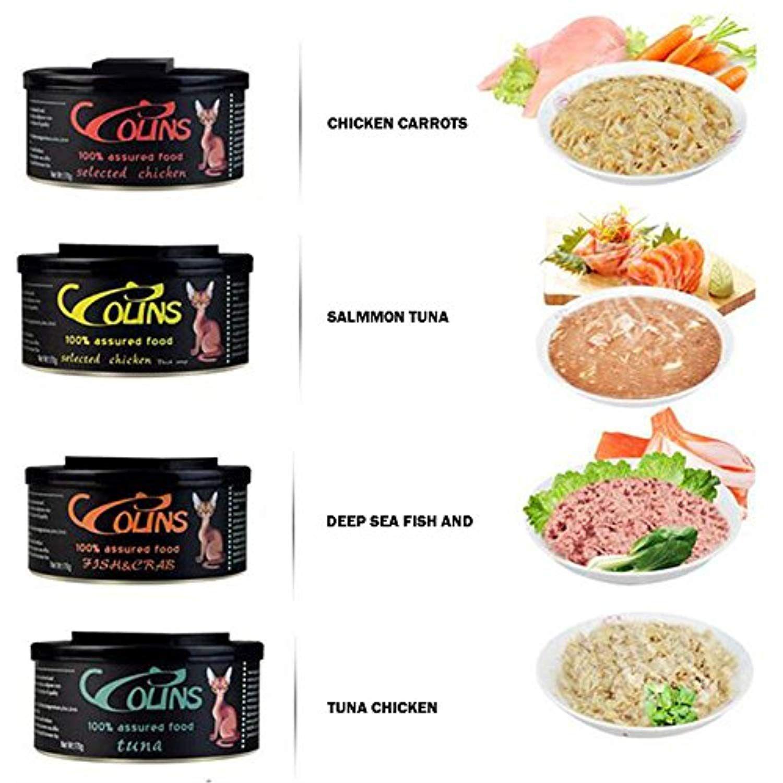Zehui Healthy Wet Cat Food Fresh Meat Can Chicken Carrot