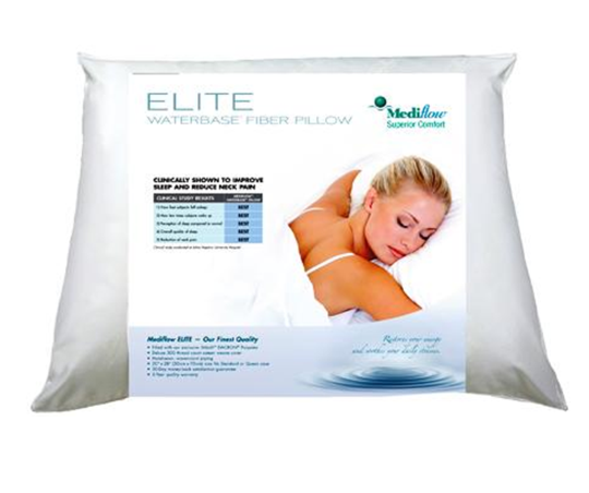 mediflow elite fiber water pillow