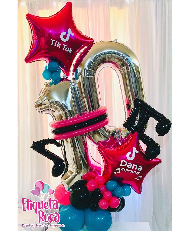 Tiktok Birthday Party Birthday Party Set Birthday Surprise Party Girls Birthday Party Decorations