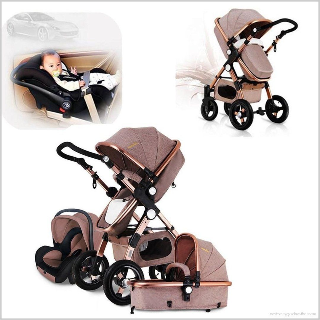 3in1 MultiFunction Baby Stroller Pram Foldable Pushchair