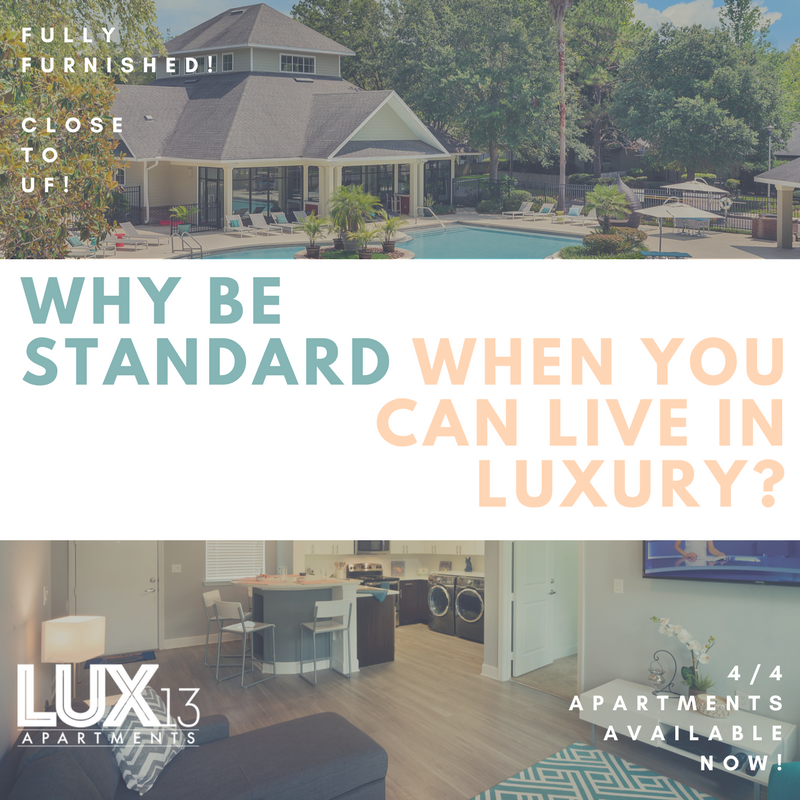 Life is too short to live standard. Live in a luxurious