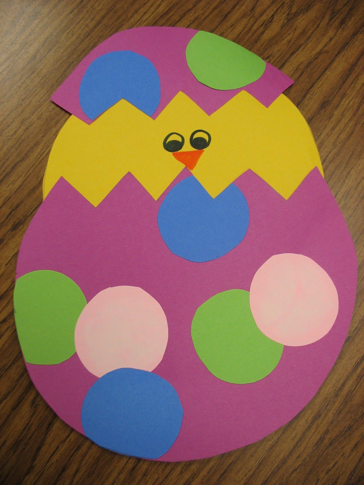 Spring Chick Craftivity Including The Life Cycle Of A