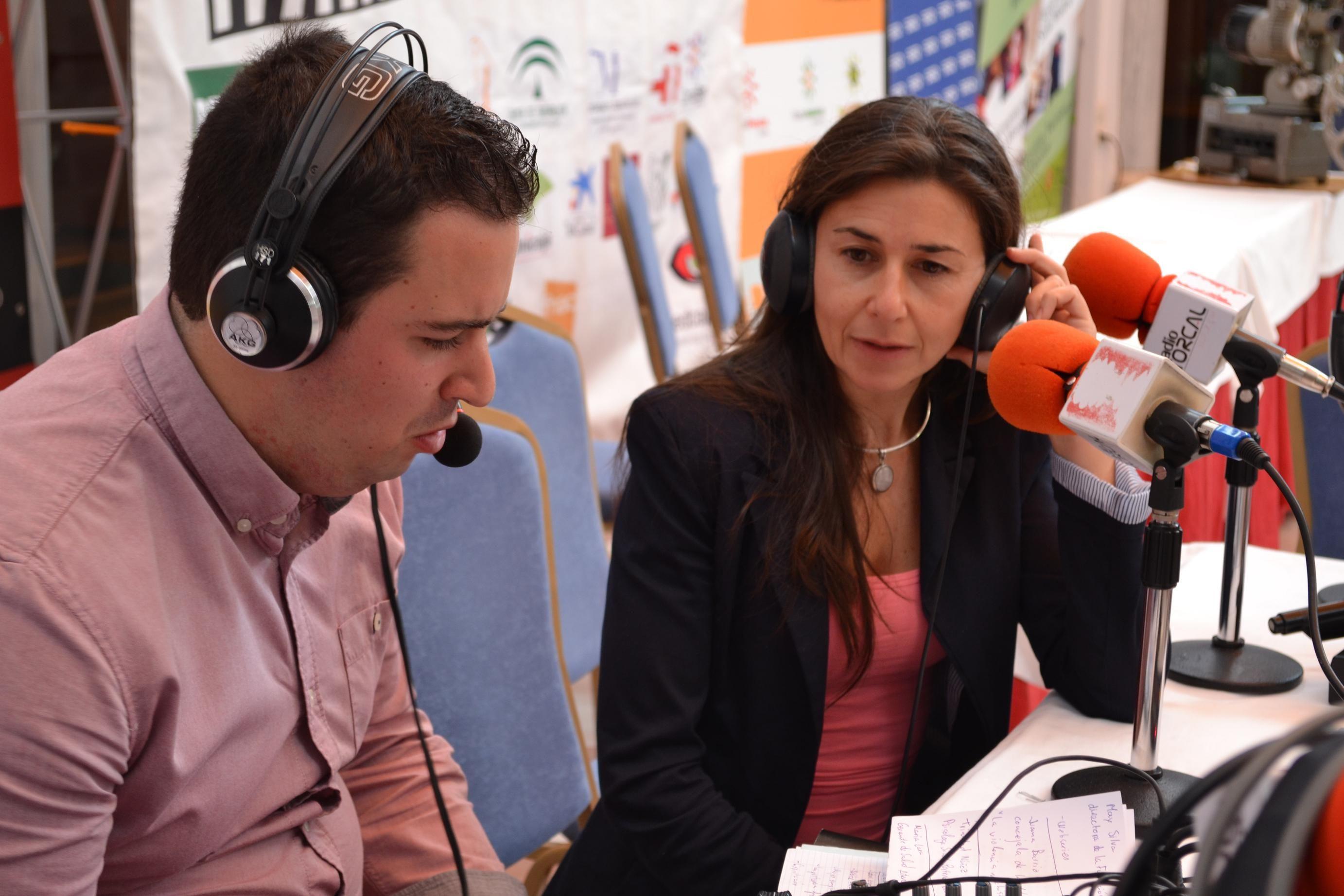 María Lara enlos micrófonos de Radio Torcal... en breve os dejamos la entrevista