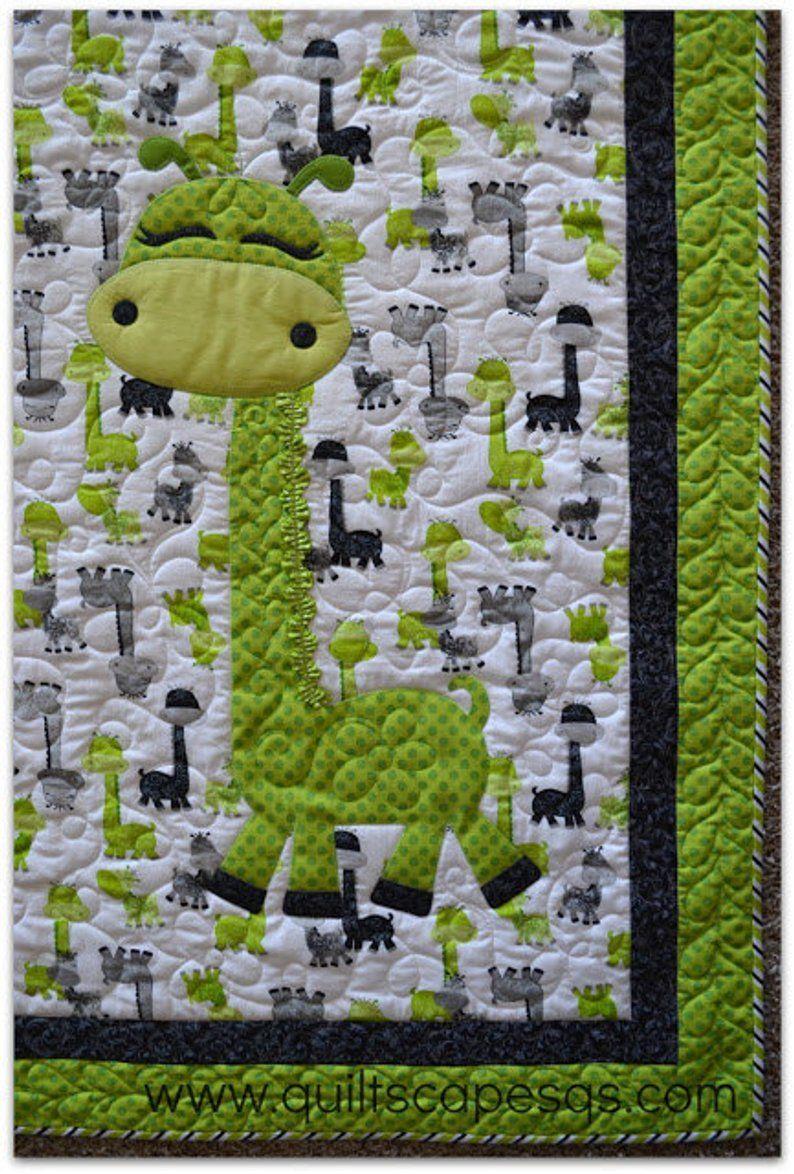 Simple Sadie Modern Millie Digital Quilt Pattern With Baby