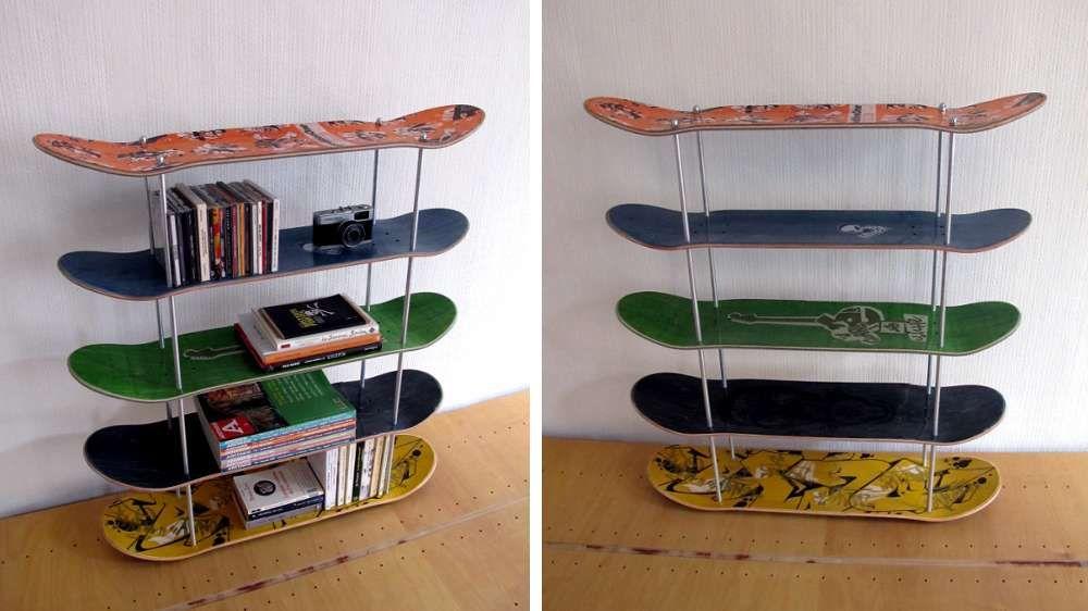 J Aime Cette Photo Sur Deco Fr Et Vous Diy Planches De Skateboard Idee Diy