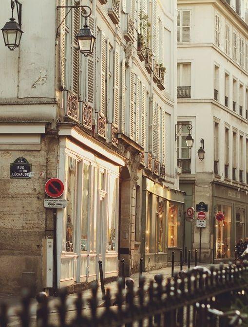 #Paris apartment houses.
