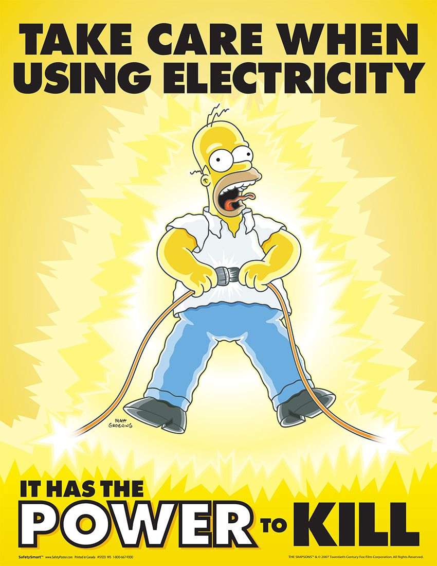 Electricity   Safety Posters   Memes   Pinterest   Safety posters ... for Electricity Safety Posters For Kids  45jwn