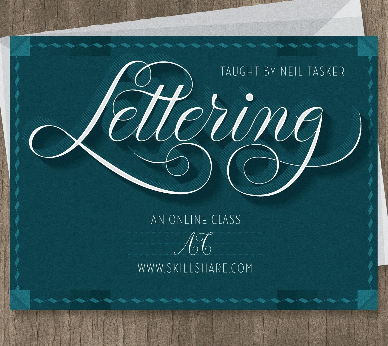 Lettering Learn To Draw Illustrative Words Skillshare