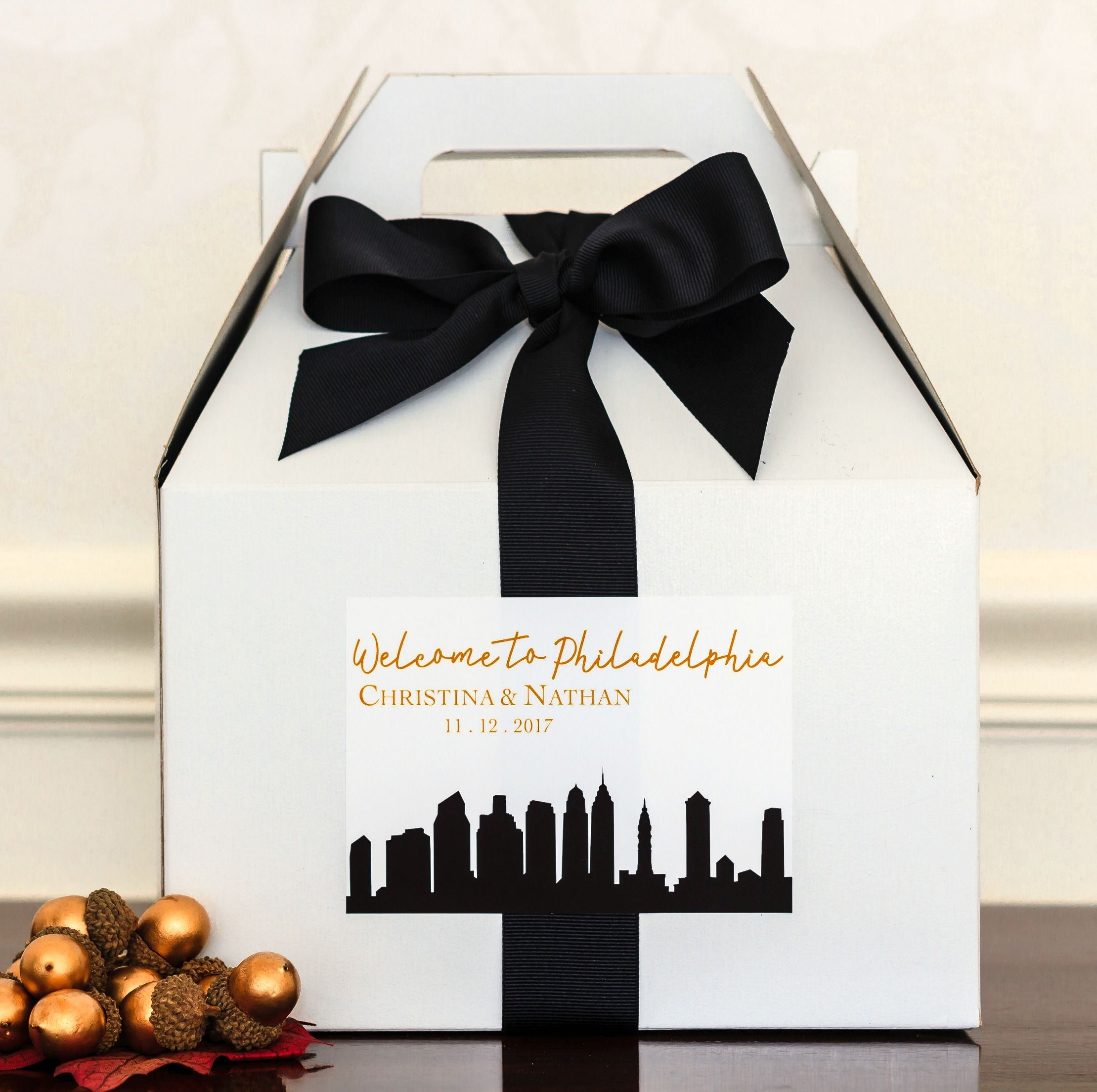 Planning a wedding? Check out these City Skyline Wedding Welcome Bag ...