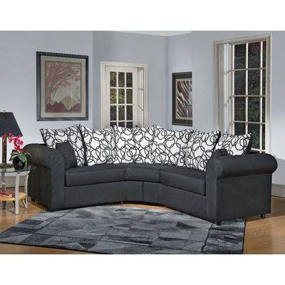 Lila Symmetrical Sectional Sectional Sofa Sofa Design Modern