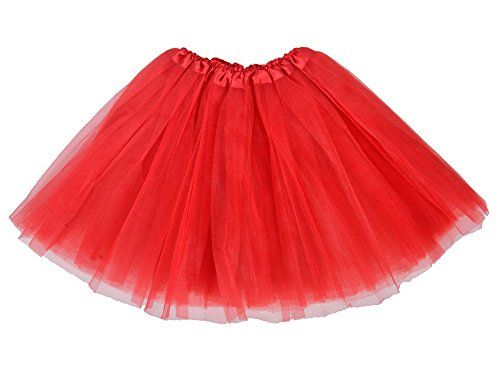 2bde76ac7d690 How To Make a Tutu Skirt | Inspiration | Red tutu skirt, Diy tutu ...