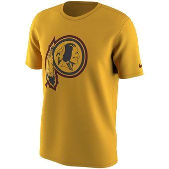 Nike Washington Redskins Gold Color Rush Travel T-Shirt  redskins  nfl  nike b8ad8b8e7