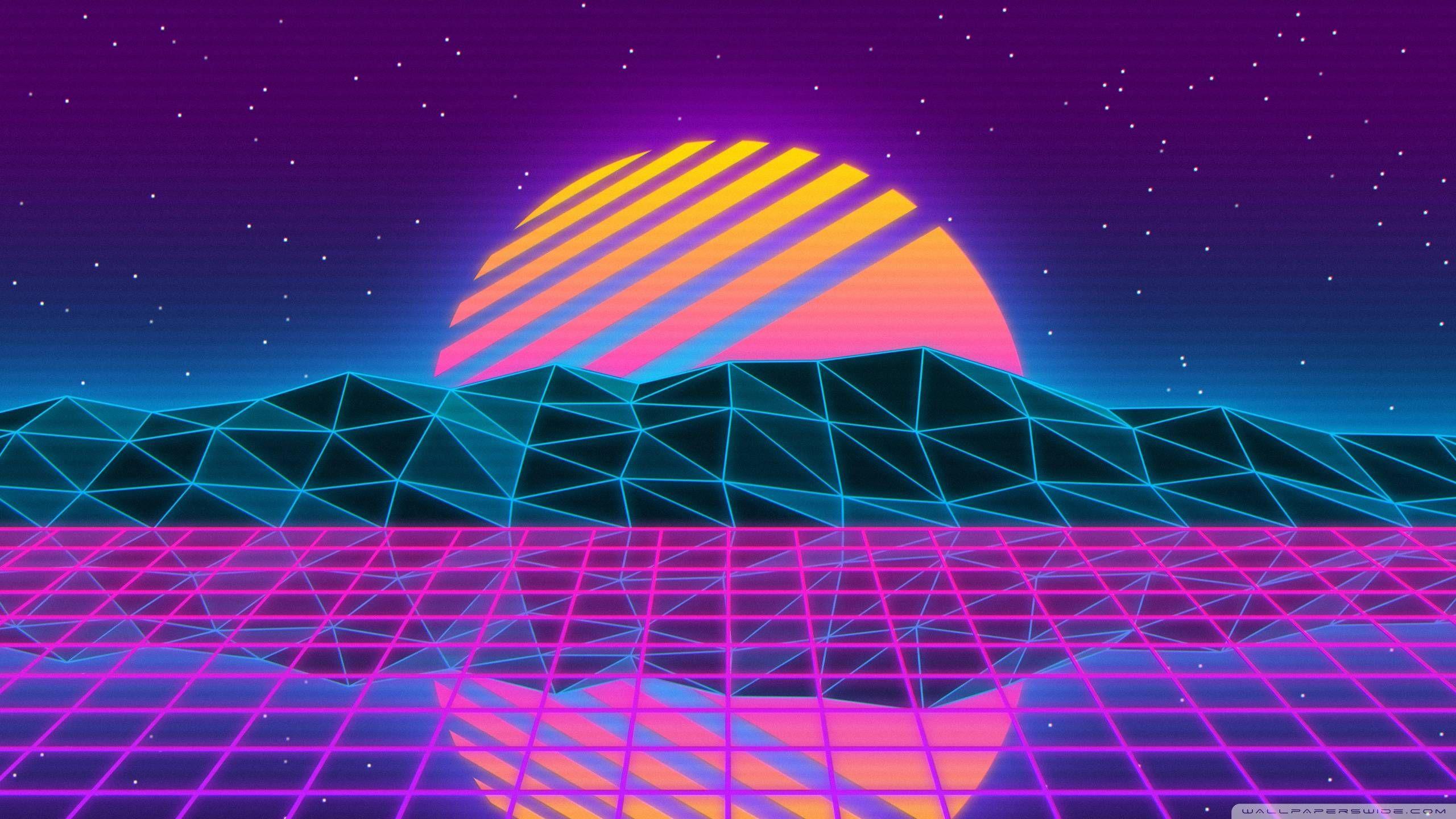 Vaporwave Wallpaper 2560 X 1440 In 2020 Vaporwave Wallpaper Vaporwave Anime Wallpaper