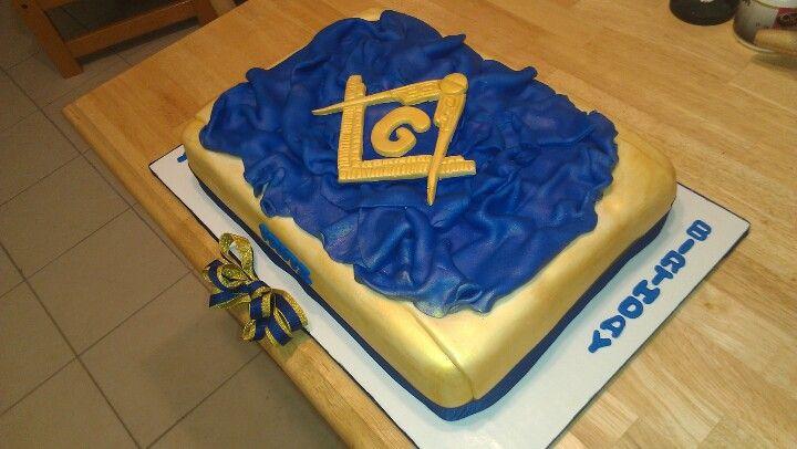 Free Mason Cake Cassidy Creationz Cakes Pinterest