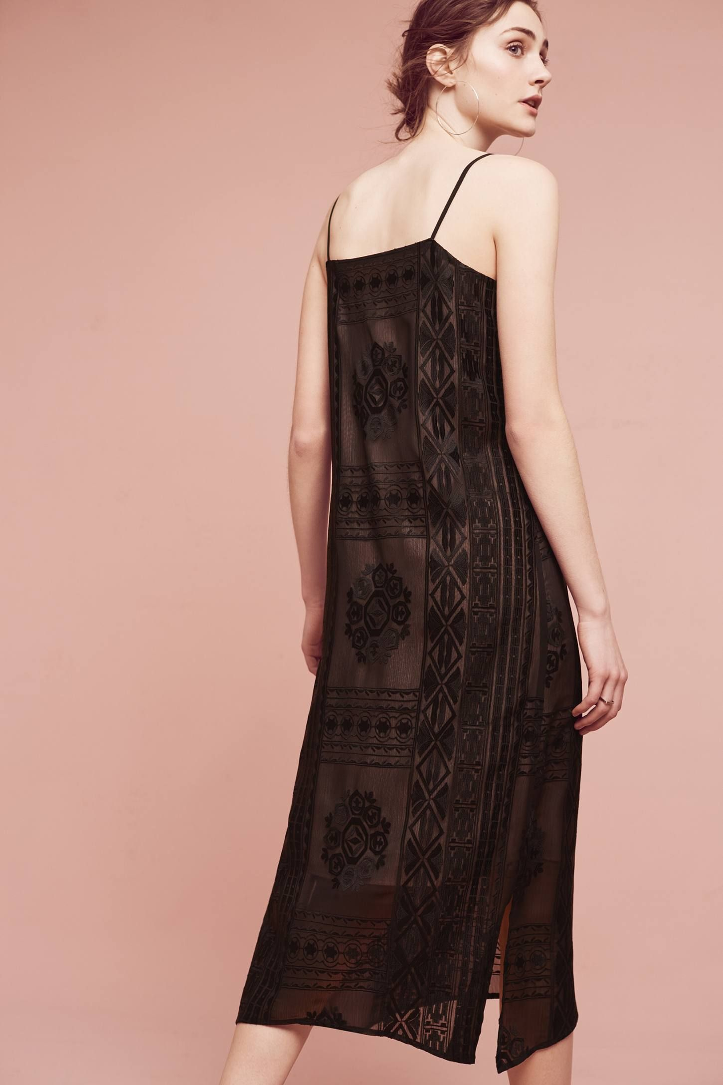 1f2f8f21a919 Embroidered Luna Slip Dress | Gatsby Party | Dresses, Fashion ...