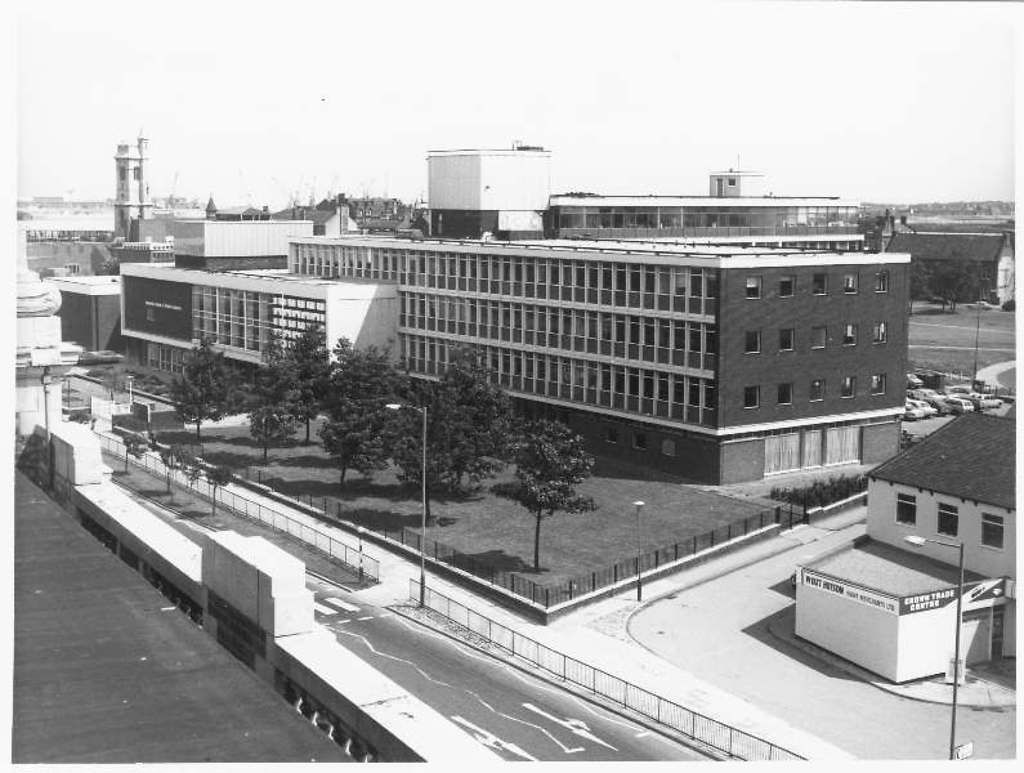 Hartlepool College Of Further Education 1978 Hartlepool Further Education Old Pictures