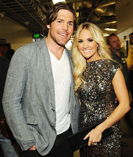 Carrie Underwood-Husband Mike Fisher