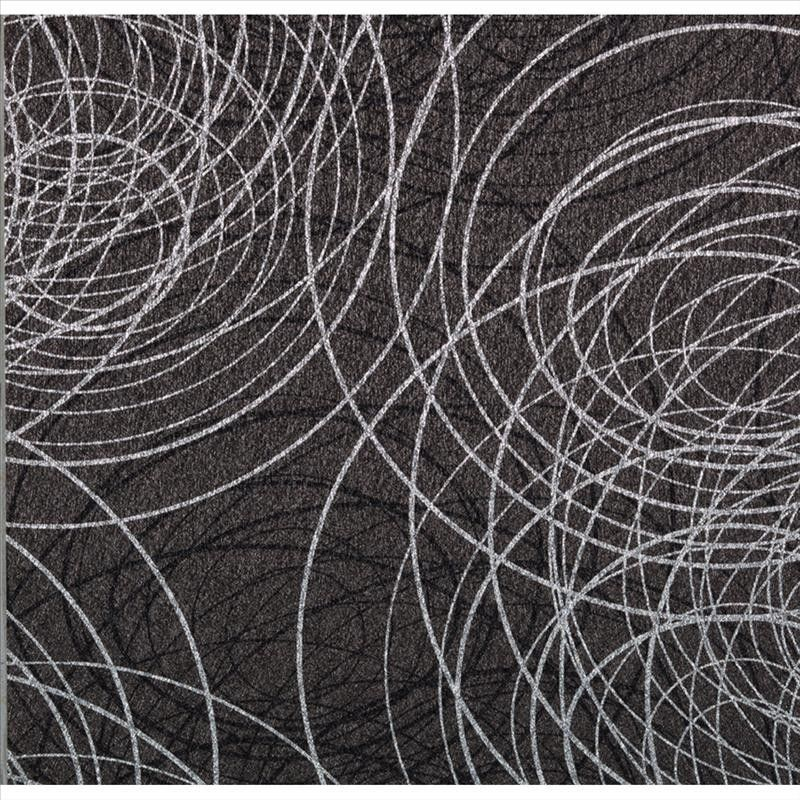 991607 bling modern wallpaper scribble black silver textured shiny wallpaper