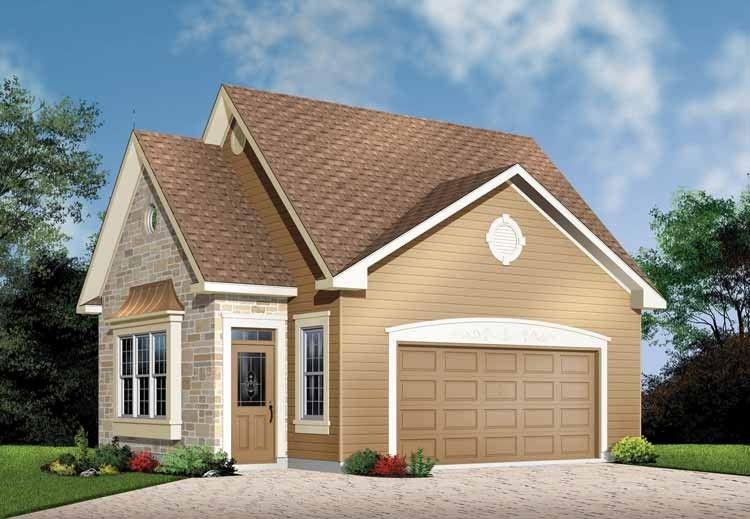 Eplans Bungalow Plan TwoStory Detached Garage 338