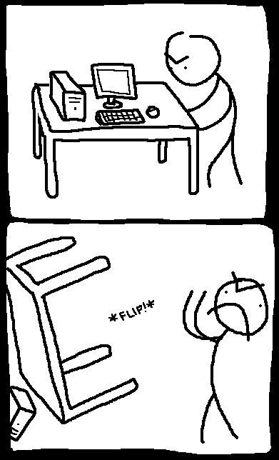 done flip table meme