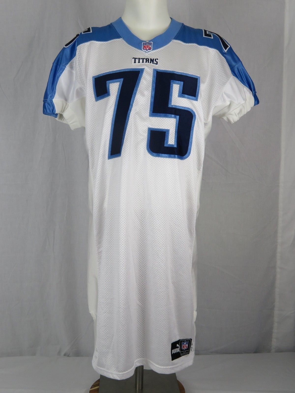 promo code 936f9 76333 Tennessee Titans Puma Team Issued Practice Jersey #75 Benji ...