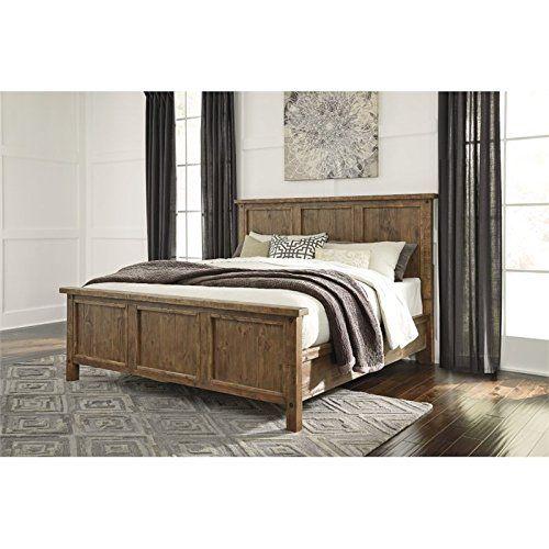 Ashley Tamilo Queen Panel Bed In Grayish Brown Ashley Fur Https Www Amazon Com Dp