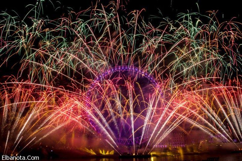صور احتفالات السنة الجديدة ٢٠١٦ والألعاب النارية في جميع أنحاء العالم Celebration Around The World Fireworks Around The Worlds
