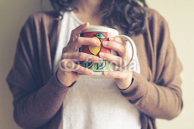 close up of hands woman with cup BUY IT FROM $1 ON FOTOLIA