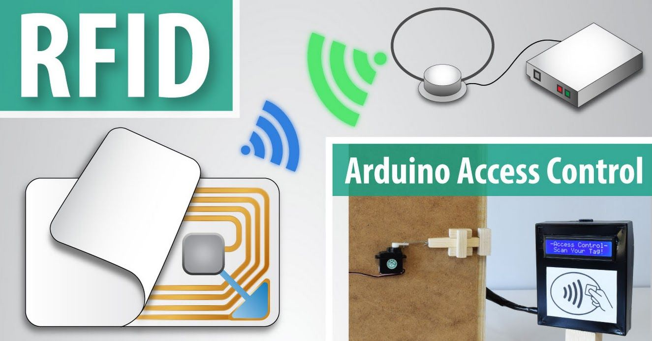 How Rfid Works And How To Make An Arduino Based Rfid Door Lock Howtomechatronics Arduino Rfid Arduino Arduino Projects