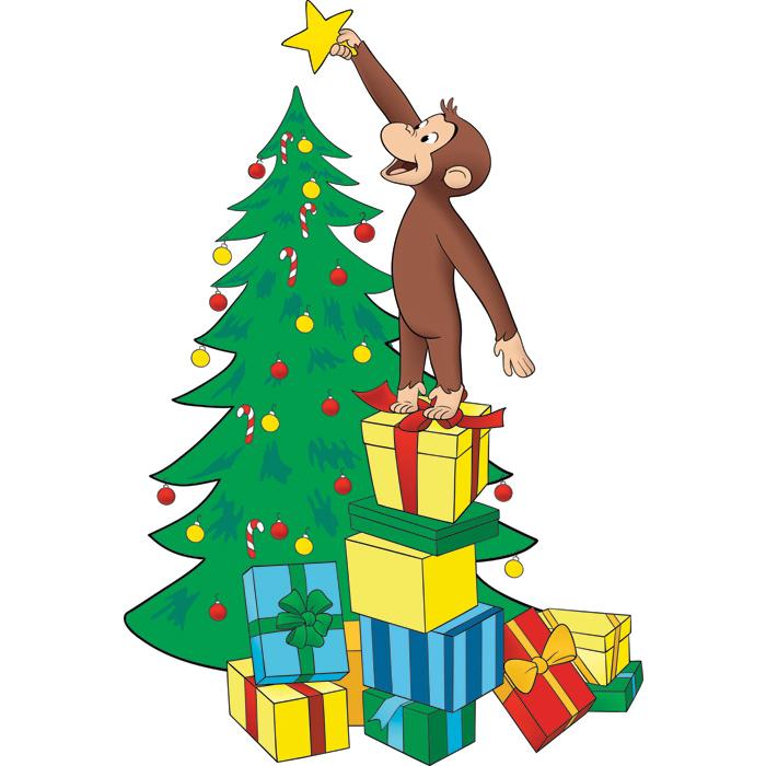 Curious George Christmas.Curious George Christmas Tree Star Christmas Ideas For