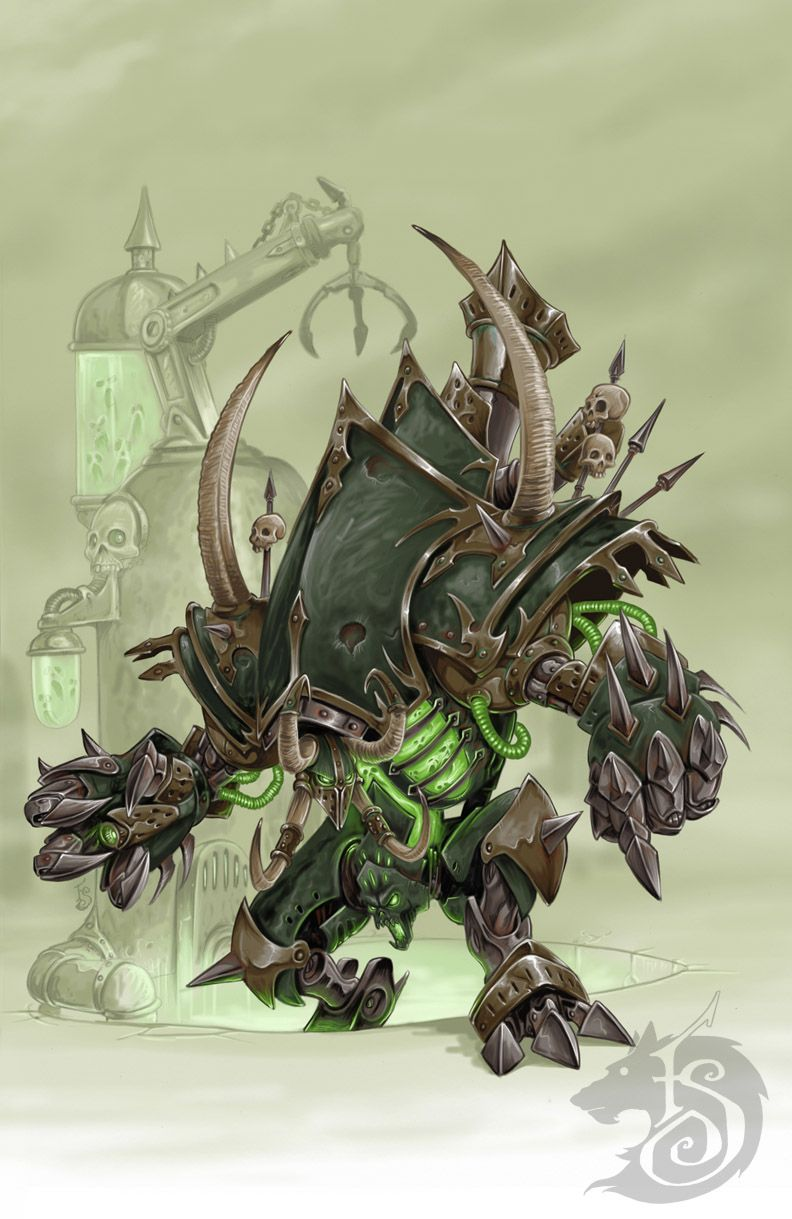Blessed with sentience, and an insatiable hunger for souls to power it, Deathjack roams, slaughtering entire villages to quell its hateful hunger. - Warmachine Deathjack. Go Cryx! For Toruk!