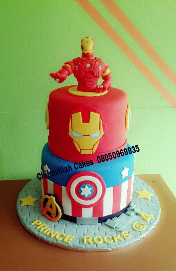 Iron Man cake by Chihavillah cakes