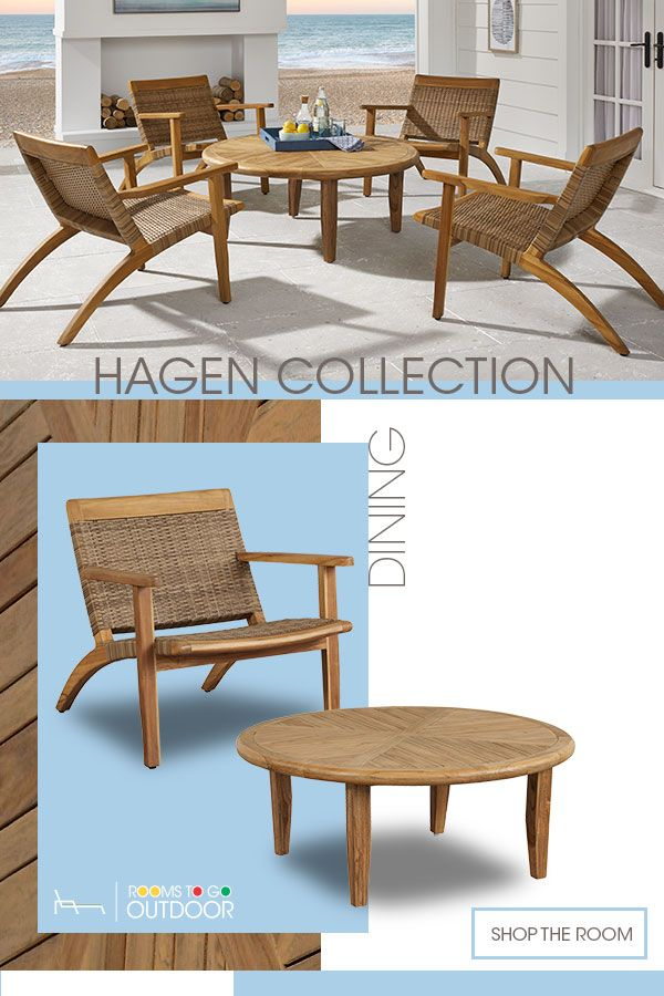Did You Know That Patio Furniture Could Have This Much Style Shop The Hagen Collection At Rooms To Go Outdoor Today Backyard Furniture