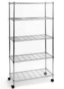 Top 10 Best Shelf Shelving Units In 2019 Thereviewleader Stainless Steel Shelving Metal Shelving Units Metal Shelves