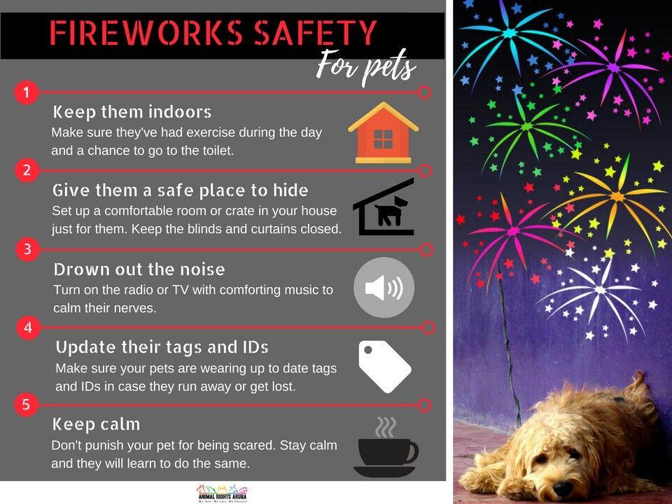 Fireworks Safety For Pets FourthOfJuly 4thOfJuly