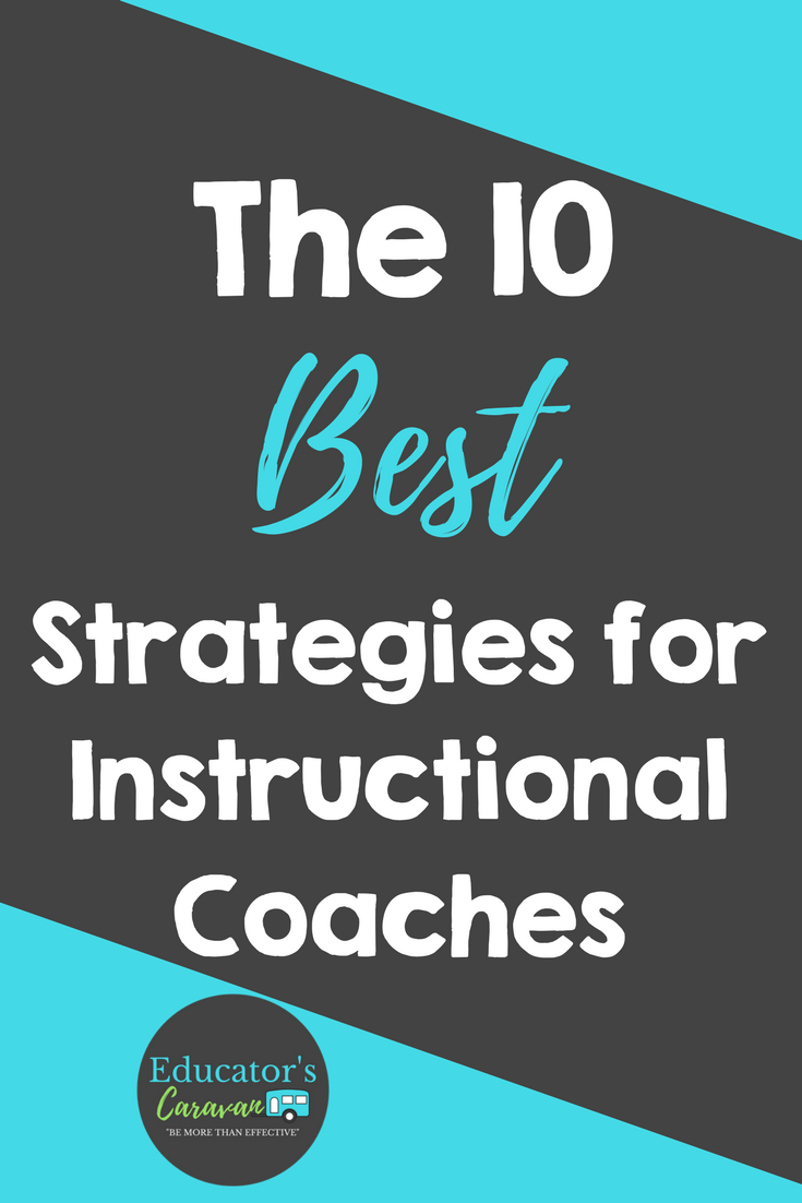 10 Coaching Strategies For Instructional Coaches Professional